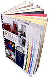 Каталог цифровой печати на дизайнерских бумагах